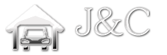 Logo J&C Garage Doors