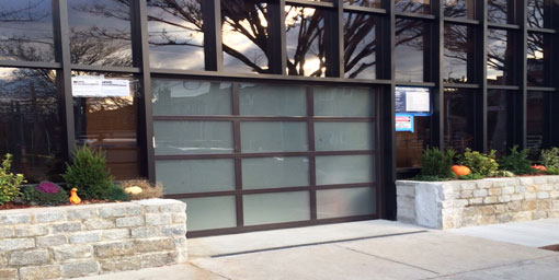 Glass Garage Door White Plains